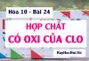Hợp chất có Oxi của Clo và Bài tập vận dụng - Hóa 10 bài 24